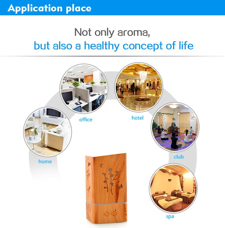 aroma essential oil diffuser air humidifier