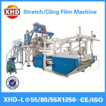 stretch film rolls cutting machine