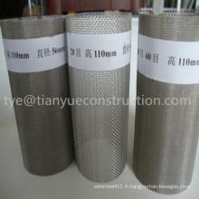 Cartouche de filtre inox 302, 304, 316, 316L (tye-058)