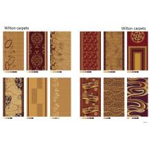 Carpete do hotel de alta qualidade de Wilton