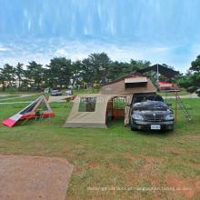 Barraca do telhado, telhado da barraca de acampamento, barraca macia do telhado do escudo