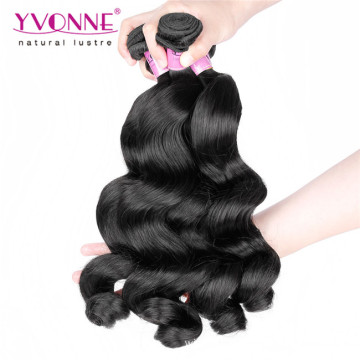 Wholesale Human Hair Weave Peruvian Virgin Hair