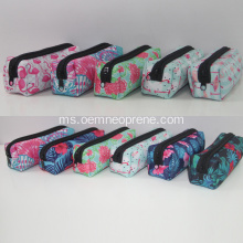 Penjanaan Sublimation Printed Square Pensil Cases