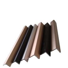 color anodized aluminium profile L angel corner aluminium profile powder coating