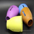 O costume BPA livra a luva da garrafa de vidro do bebê do silicone da isolação térmica