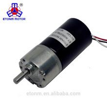 Motor sin núcleo pequeño sin escobillas de 6 V con caja de cambios