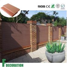 Водоустойчивый деревянный пластичный составной decking WPC Плакирование стены