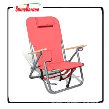 Playa al aire libre y silla de camping / mochila