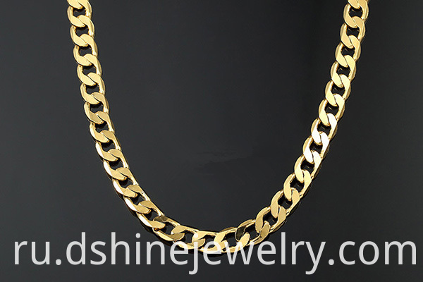 Copper Chain necklace Men