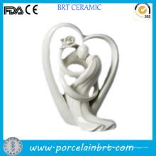 Prächtige Liebe Herz Porzellan Dekoration Hochzeitsgeschenk