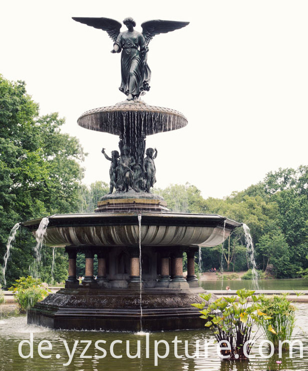 Bronze Garden Fountain