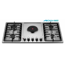 5 Burners Gas And Electric Burner Cap Cooker