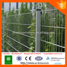 ISO9001 Dupont Powder coated Double Wire Mesh Welded Fencing Panels from China Alibaba