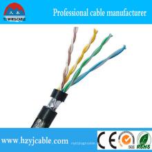Hersteller 23 AWG UTP Kat. 6 LAN-Kabel, UTP-Kat. 5e LAN Kabel 24 AWG / 4p
