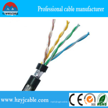 Fabricante 23 AWG UTP Cat. 6 Cable LAN, UTP Cat. 5e Cable LAN 24 AWG / 4p