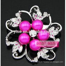 Broches de cristal vendedoras calientes de la perla austríaca