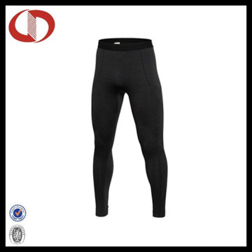 Pour Color Spandex Sports Compression Running Pants for Men
