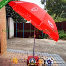 Paredes a prueba de viento sol playa sombrilla Parasol con inclinación (BU-0048TW)