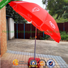 Walls Windproof Sun Beach Umbrella Parasol with Tilt (BU-0048TW)