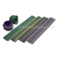 100%polyester Reflective safety bracelet
