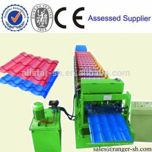 Glazed tile roof panel roll forming machine roofing sheet