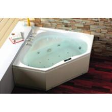 Luxury Vertical Cool Quality Cornor SPA Bathtub