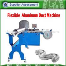 Flexible aluminium foil duct machine