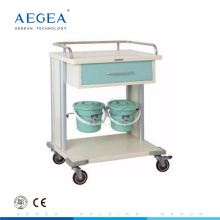 AG-MT029 Krankenhaus-Wäschewagen mit vier luxuriösen geräuschlosen Rollen