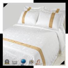 100% Baumwolle oder T / C 50/50 Jacquard Hotel / Haus Bettwäsche Set (WS-2016280)