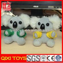 Складе оптовая handmade футболки детские дети мягкие игрушки животных плюшевые Коала брелок