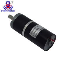 Motor sem escova planetário da engrenagem da CC de 36mm 24v 12v de ETONM micro