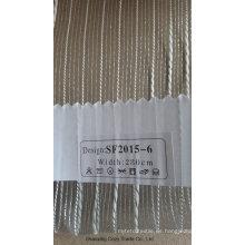 Nueva tela de la cortina del Organza de la raya de la manera 201506