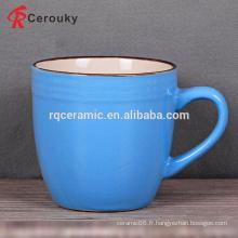 Tasse à café ronde en céramique