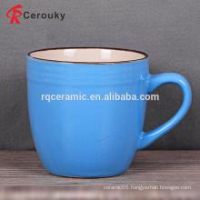 Food safety round ceramic coffee mug