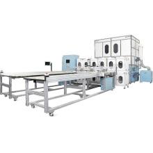 Máquina de fabricación de almohadas y edredón de plumas de alta velocidad
