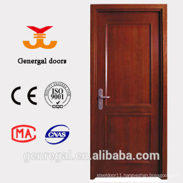 Country style single leaf interior wood panel doors