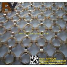 Pantalla de metal metálico de anillo