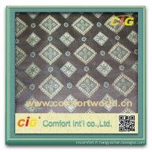Mode nouveau Design dernier Style Rideau tissu Jacquard de Polyester