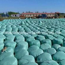 Film d'emballage multi-couche de balle d'ensilage de prix usine