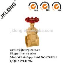 J1011 Brass gate valve