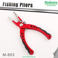 Pince à pêche en aluminium avec mâchoires enroulées