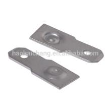 Carimbando o terminal de aço inoxidável usado para o termostato da ação instantânea