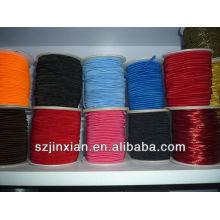 Coloridos hilos elásticos de cristal