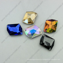 Colorful Glass Stones Sew on Garment (DZ-3070)