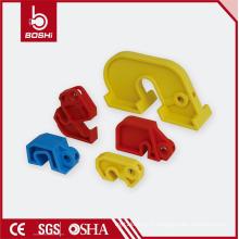 Verrouillage du disjoncteur en plastique surdimensionné Brady (BD-D05) de toutes les différentes tailles de couleurs pour les étiquettes de verrouillage en utilisant