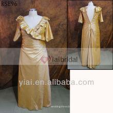 RSE96 V cuello más la madre del tamaño de los vestidos de novia