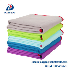 Quick Drying Microfiber Sueded / Sports/ Travelling/ Body Towel with Printed Logo