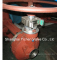 Mechanical Manual Gear Operated Gate Valve with Interlock