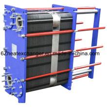 Intercambiador de calor de placas de titanio para enfriador de aceite marino (igual a M10B / M15B)