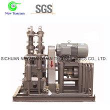 Compresseur N2 à pression de pression de pression de 0,1 à 25 MPa pour l'augmentation de la pression